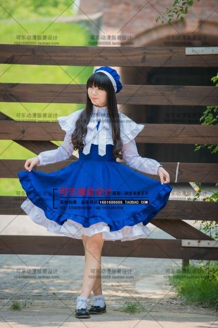 Cardcaptor Sakura Cosplay Sakura Blue White Cosplay Shoes