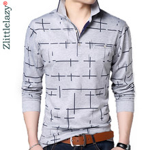 f9e3c2a4a1706 2019 moda marka POLO GÖMLEK erkekler hat spor cep camisa masculino  streetwear erkek polos gömlek tişörtü