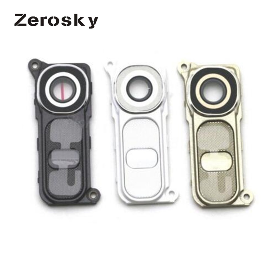Zerosky Rear Camera Cover Glass Lens For LG G4 H810 H811 H815 VS986 LS991 Back Camera Glass Frame High Quality image