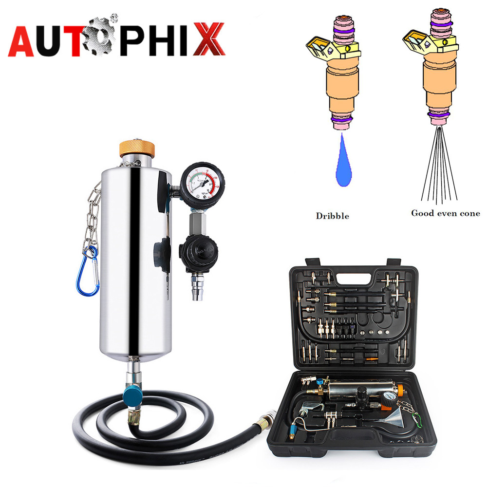 Autophix Gx100 Fuel Tool Car Tools Clean Fuel Injection System Auto Injector Cleaner Washing Tool Pressure Vacuum Tester new auto engine system gasoline fuel injector cleaner non dismantling bottle link for all diagnostic repair tools rtk014
