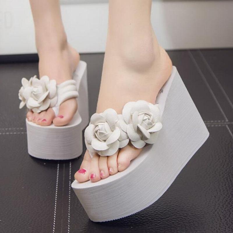 Schuhe Neue Sommer Frauen Mode Flip Flop Schuhe 11 Cm Dicken Boden Nicht-slip Sandalen Slipper Plattform Schuhe Chaussure Femme Zsq9 Frauen Schuhe