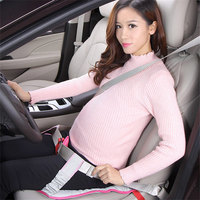 GSPSCN Newest Pregnant Women Car Seat Cushion Belt For Pregnant Safety Protection Soft Breathable Safe Pad