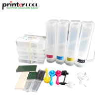 CISS 932 933 with chip Continuous Ink Supply System With Permanent Chip for HP Officejet 6100 6600 6700 7110 7610 7612 printer free shipping for hp 932 933 refillable ink cartridge with ink with permanent chips for hp officejet 7110 6100 ink jet printer
