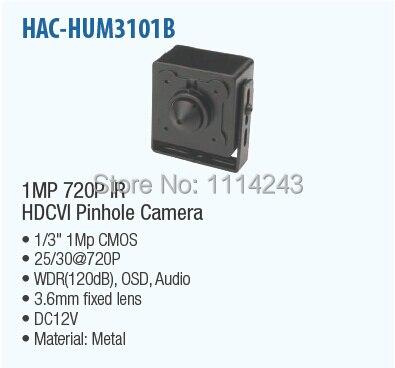 ФОТО Free Shipping DAHUA 1MP 7200P WDR HDCVI Camera Original English Version without Logo HAC-HUM3101B