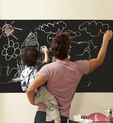Removable 60x200cm Healthy PVC Chalk Board Blackboard Wall Stickers Decor Mural Decals for Kids Rooms School Adesivo De Parede
