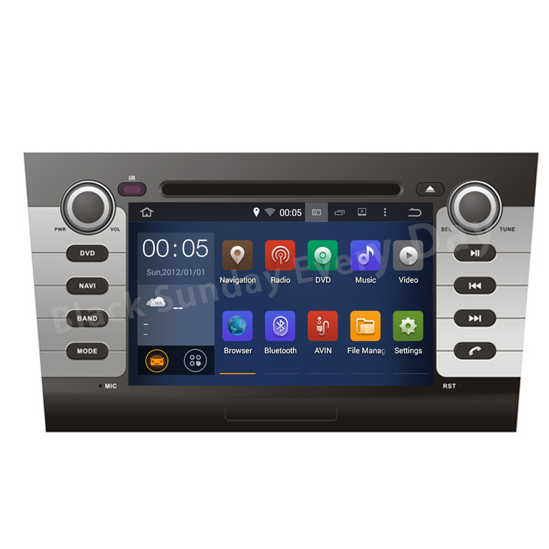 NEW Android 5 1 Quad Core Car DVD player DVD for Suzuki Swift 2004 2010 with