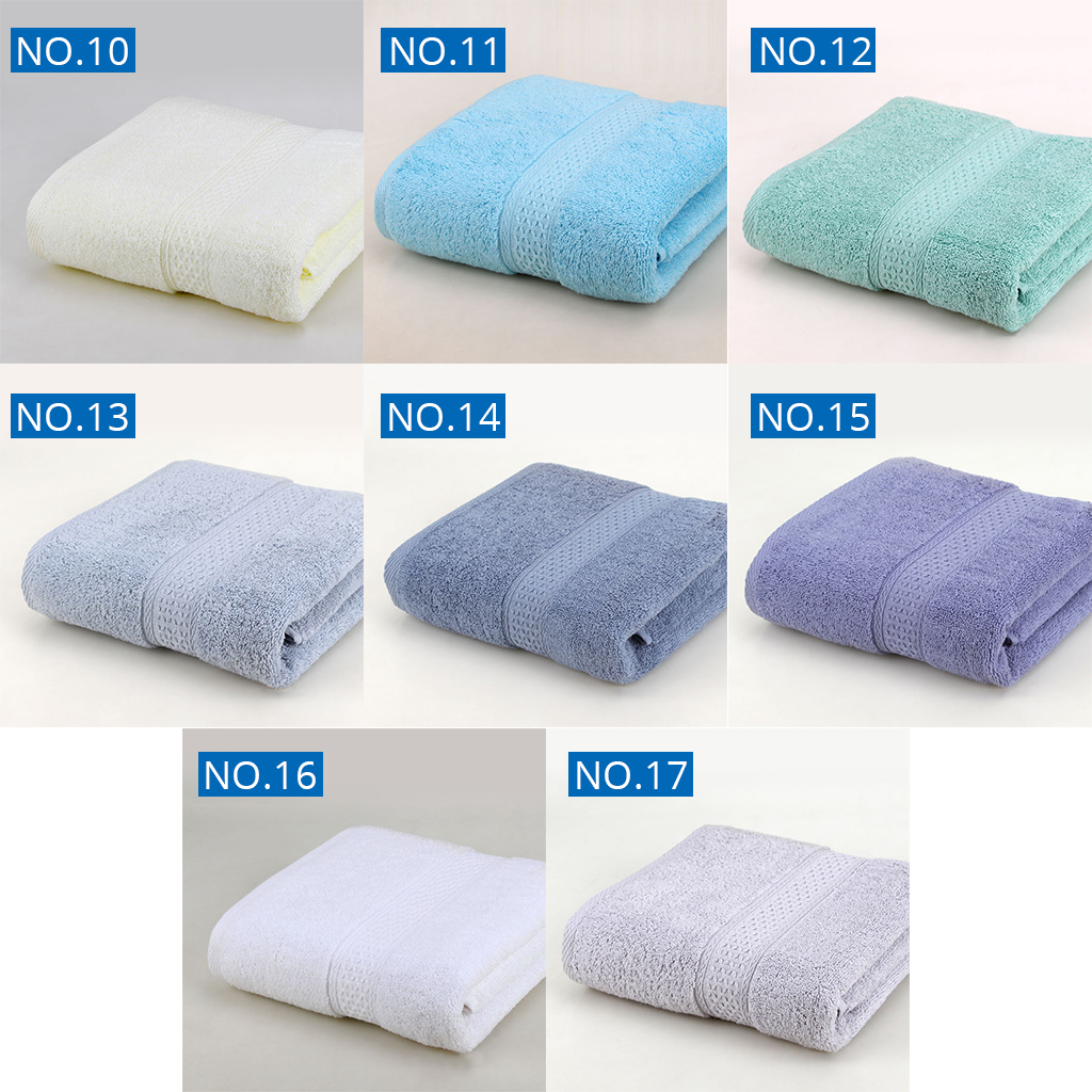 1PCS Cotton Absorbent Bath Towel Large 70*140cm Solid Quick-Drying 17 Colors Soft Beach Bath Towel Thick Spa Towel for Adult