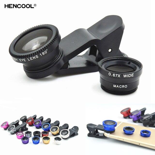 a0cf6623950 Teléfono Celular 3 en 1 Angulo Macro lente de ojo de pez para Huawei ...