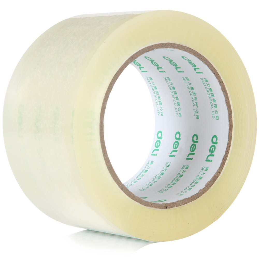 7 sizes Width transparent tape sealing tape packing tape 60mm 100y 45um 30325 deli sealing tape transparent packing packing tape strong viscosity convenient practical sealing tape