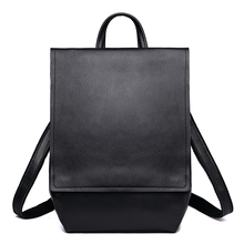 Fashion Male Genuine Leather Backpacks Business Casual Men Shoulder Bags Travel Backpack for Women School Bags for Girls Boys