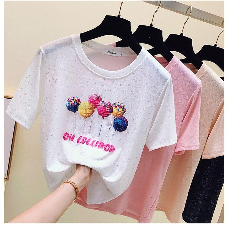 Gepäck & Taschen LiebenswüRdig Kawaii T Shirt Frauen T-shirts Sommer Top Koreanische T-shirt Baumwolle T-shirt Frauen Tops Poleras De Mujer Moda 2019 T Hemd Femme Modernes Design