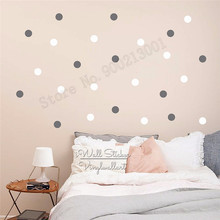 Room Decoration Cute dot Wall Decor Vinyl Art Removeable Poster Bauty Small Pattern Decal Fashion Modern Ornament LY542