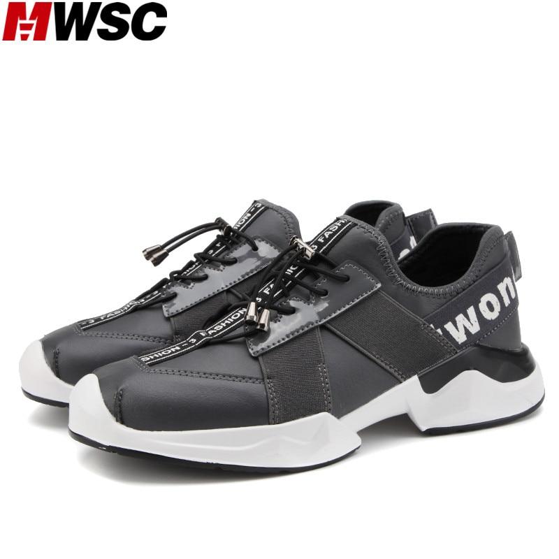 Chaussures Anti Noir bleu gris choc Mâle Casual Croissante Street Respirant Hommes Semelle De Pu Mwsc Hauteur Style Bande Mode Élastique U6q7TX