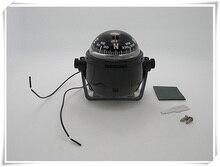 Морской светодиодный компас фонарь для парусного корабля, 12 В, для лодки, яхты, белый/черный