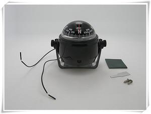 Image 1 - Boussole de Navigation pour voile, blanc/noir, pour bateau, 12V, LED
