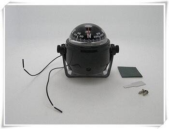 Marine LED Navigation Compass Light for Sail Ship 12V Boat Yacht White/Black