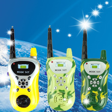 Two way radio Mini Walkie Talkie for kids with 3 channels switch HK intercom outdoor toys game