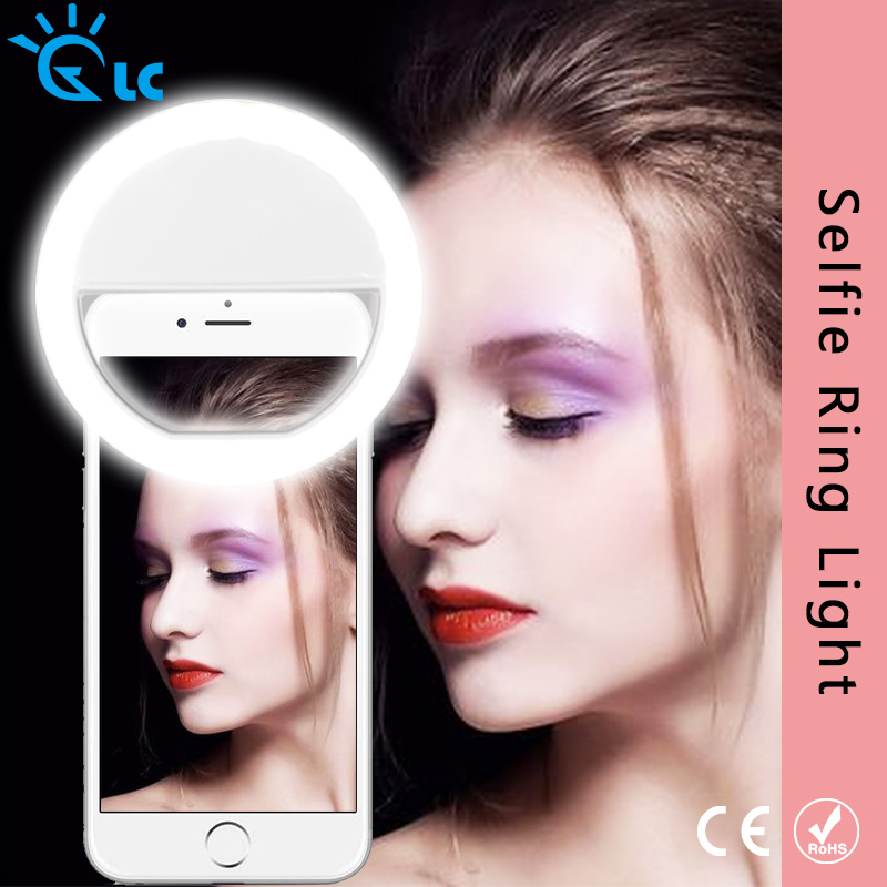 Selfie Lamp LED Selfie Portable Flash Led Camera Phone Photography Ring Light Enhancing Photography For Smartphone