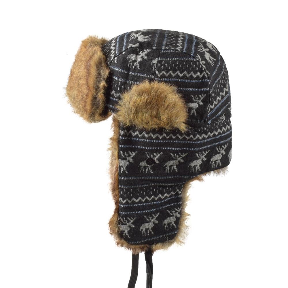 292f6c0845d HTB1Wpdcr9BYBeNjy0Feq6znmFXa8 Wholesale Hot Sale Bomber Hats Ushanka  Russian Hat Fur Winter Hats sports snow outdoor aviator