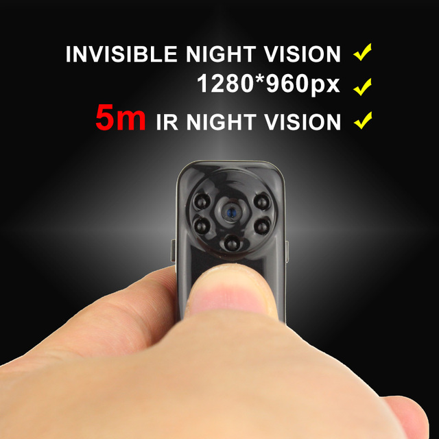DINGFENTECH Newest Mini DV DVR 1080P Full HD Night Vision Hoursing Security Camera Micro Video Voice Recorder Digital Cam