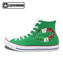Womens Mens Converse Chuck Taylor Man Woman Shoes Italy Flag Original Design Custom Hand Painted Canvas