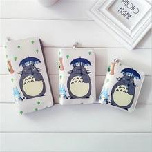 Totoro Wallet With Zipper