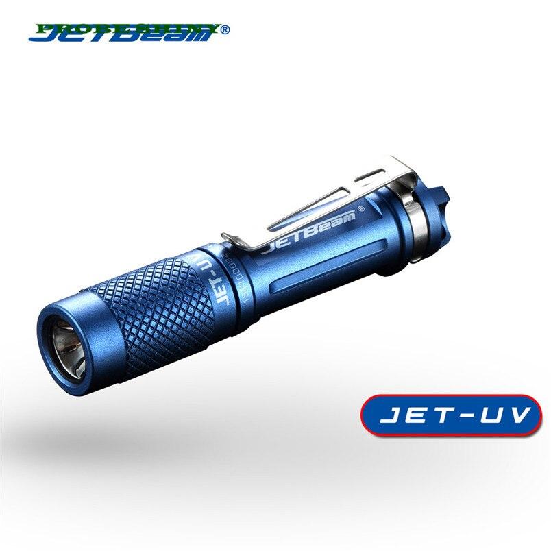 HOT!!! JETBeam JET UV 3535 UV Ultraviolet 365nm Money Detector Flashlight Blue Free Shipping #NO30 zno nanoparticles uv detector