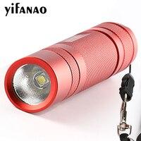 Конвой S2 + красный L2 U2-1A Повседневный светодиодный фонарь факел Фонари самообороны Отдых свет лампы для велосипедов подарок для девочки
