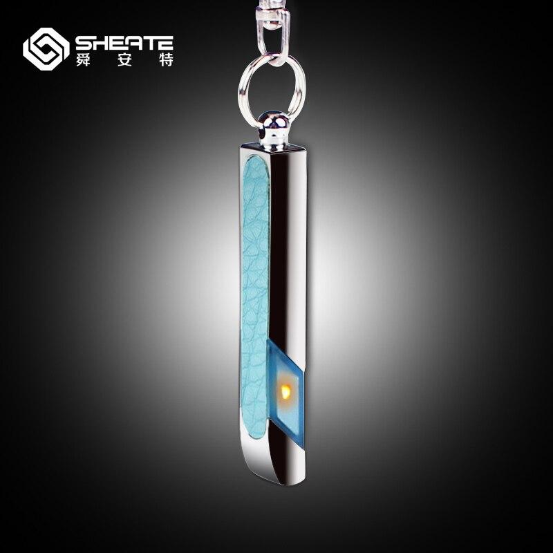 SHEATE Car anti static keychain ring 50 000V static electricity eliminator bar Cute colorful Key ring