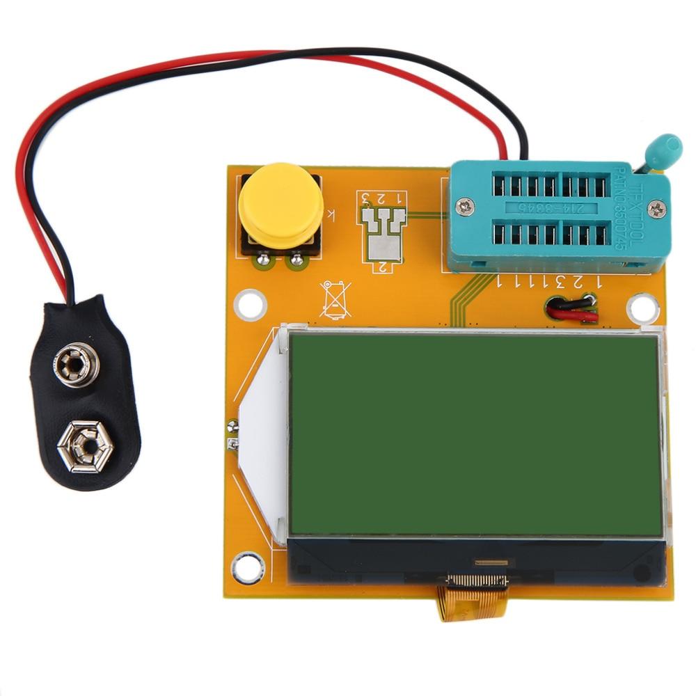 LCR-T4 Графический Транзистор тестер сопротивления индуктивности емкость ESR/SCR/электронный компонент Диод тиристорный Mos на складе