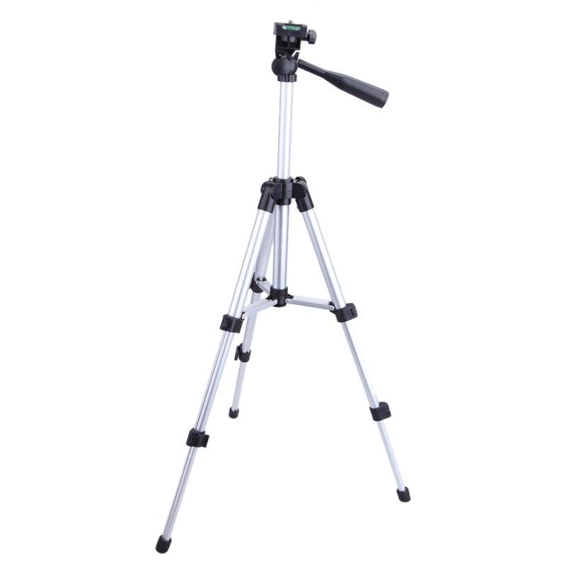 Léger En Aluminium Professionnel Télescopique Caméra Trépied Support pour DSLR Canon Nikon Sony DSLR Caméra Caméscope Trépied
