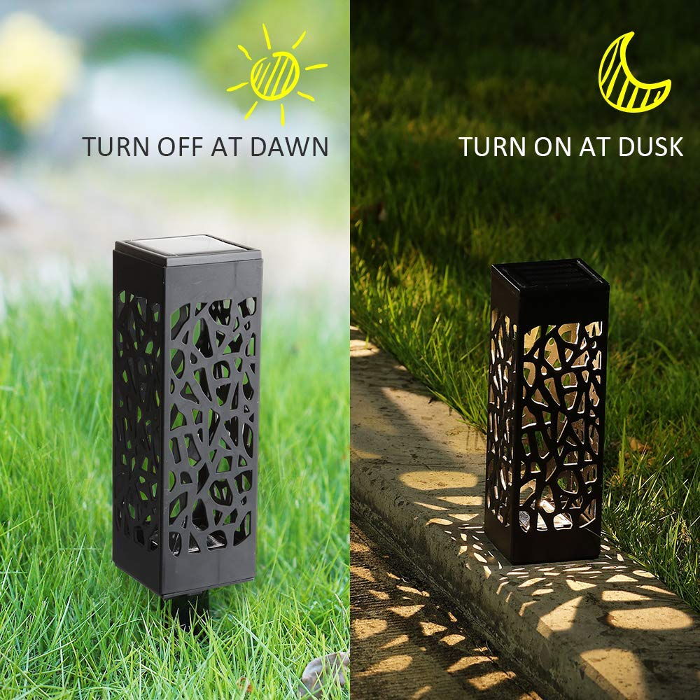 Outdoor Solar Powered LED Garden Lights  Lanterns Solar Led Lamps For Patio Yard Lawn Pathway Garden Decoration