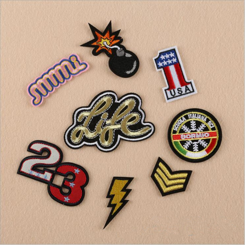 Pcs delicate embroidery patch for clothing iron on