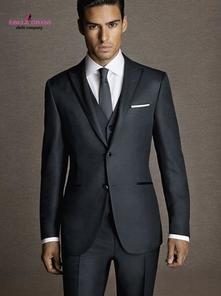 2015 High Quality Mens Casaco Trajes Black Male Hot Sale Party