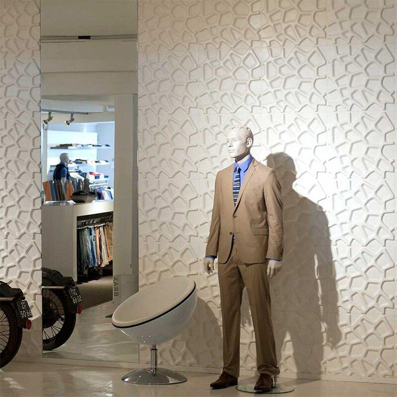 Модные 3D Европейский объемные наклейки для гостиной ТВ фоне обоев спальня украшения самоклеящиеся