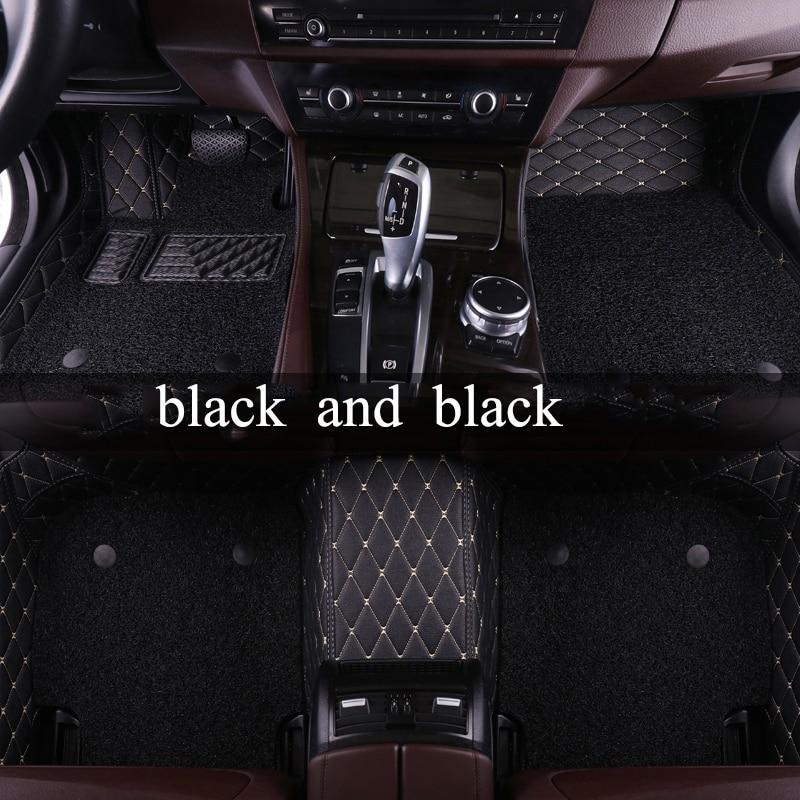 kalaisike Custom car floor mats for Infiniti all models FX EX JX G M QX50 QX56 QX80 QX70 Q70L QX50 QX60 Q50 Q60 car styling hand sewn leather cowhide steering wheel diy sticker cover for infiniti q50 qx50 ex35 jx qx60 q60 q70 g ex interior accessories