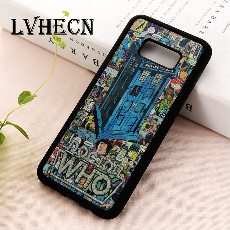 Phone Bags & Cases Fitted Cases Lvhecn Tpu Phone Case Cover For Samsung Galaxy S5 S6 S7 S8 S9 S10 Edge Plus S10e Lite Note 5 8 9 Doctor Who Tardis Police Box Preventing Hairs From Graying And Helpful To Retain Complexion