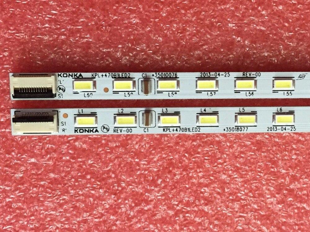 1 Paar X Original-led-tv Hintergrundbeleuchtung Streifen Für Konka Led47r5500pdf Kpl + 470b1led2 35018081 60-led 525mm Aluminiumplatte Produkte HeißEr Verkauf