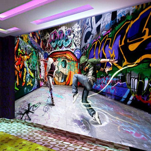 Buy free shipping large dancing youth hip for Immagini graffiti hd