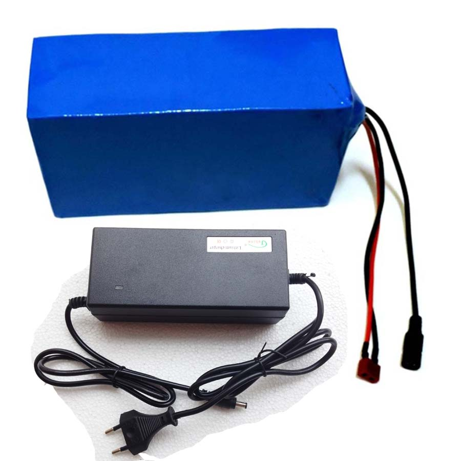 1000W 36V 20AH Electric Bicycle Battery 36V Lithium Battery 36V 20AH E bike battery 30A BMS 2A charger with battery bag