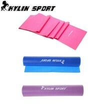 Комплект из 3 йога сопротивление лента 1,5 m фитнес оборудование инструмент электропитание тренировка для kylin спорт