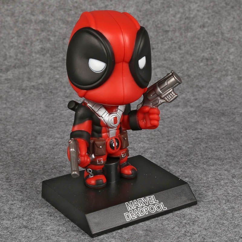 Deadpool Action Figure Marvel X Men Legends Universe Bobble Head New Red Toy Anime Figure Collectible Model Toy
