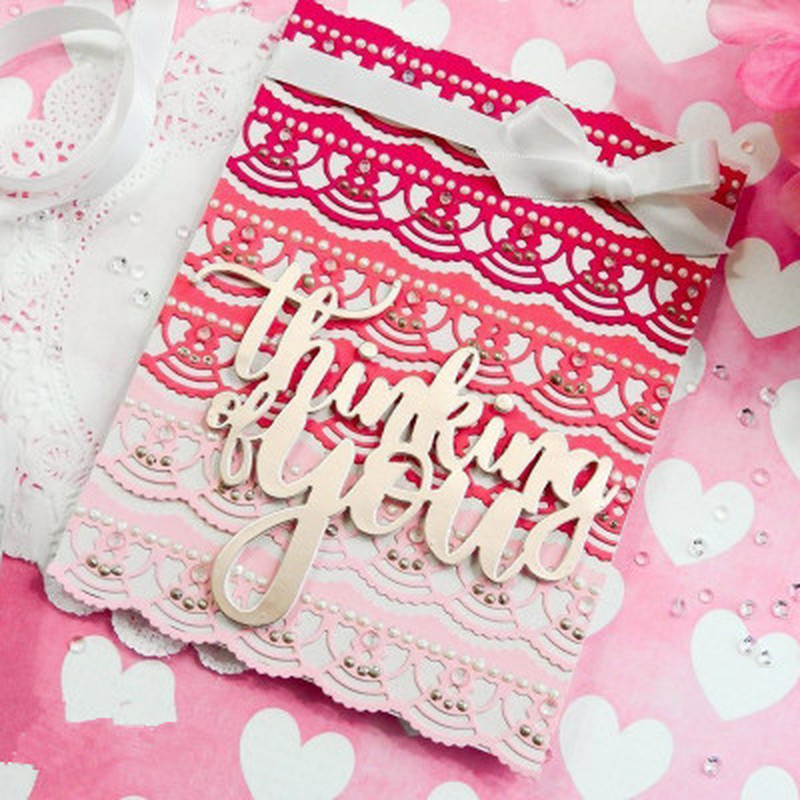 2018 3D Girl DIY New Arrival 3pcs/set Metal Cutting Dies and Scrapbooking For Paper Making Embossing Stamps Frame Card Craft Die
