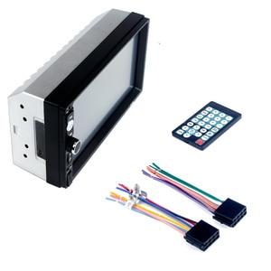 Image 4 - 7010B 7 inch car multi function player, touch screen Bluetooth MP3 player RM/RMVB/BT/FM PLAYER  MP5 player Car radio