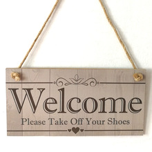 Signo de placa colgante para colgar en los zapatos, decoración para el porche, regalo del 14 de junio