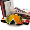 Rojo BuII Polarizados Gafas Gafas de Motocross Ciclismo Máscara de Esquí ATV Motocross Casco de La Motocicleta MX Goggle Oculos gafas Gafas