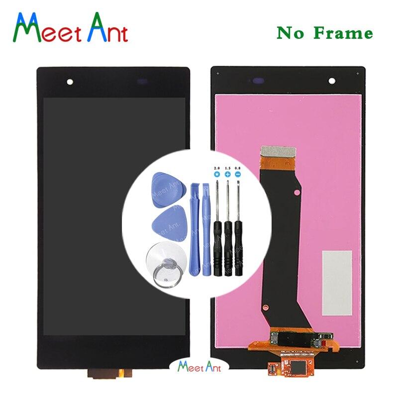 Haute Qualité 5.0 ''Pour Sony Xperia Z1S L39T C6916 LCD Écran D'affichage Avec Écran Tactile Digitizer Assemblée + Outil
