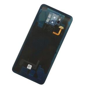 Image 5 - Zuczug 유리 후면 하우징 lg g7 thinq g7 + 배터리 커버 백 케이스 지문 + 로고