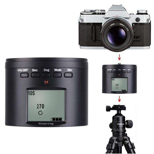 אלקטרוני פנורמה כדור חצובה ראש לgopro/טלפונים חכמים/מצלמות דיגיטליות/DSLRs חשמלי מתאם עבור DJI אוסמו פעולה מצלמה