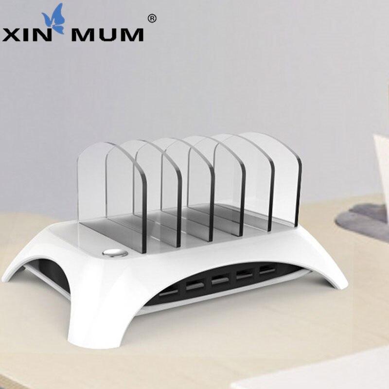 Universel 5 V/2.4A détachable USB Station de charge support chargeur de bureau pour téléphones mobiles tablette MP3 PDA caméra écouteur